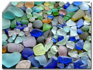 Sea Glass Washed Up